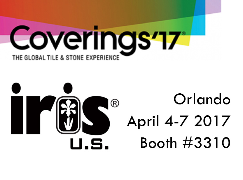 IRIS US TO ATTEND COVERINGS 2017