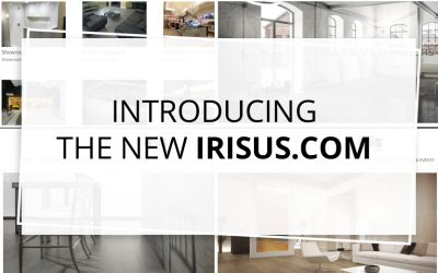 IRIS US WEBSITE – NEW SLEEK DESIGN