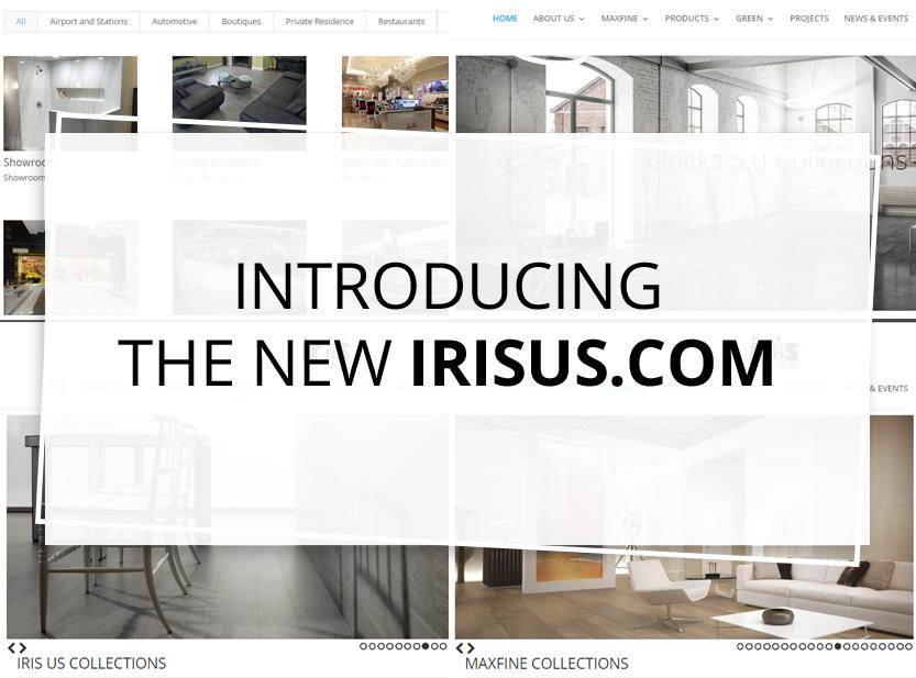 IRIS US WEBSITE – NEW SLEEK DESIGN