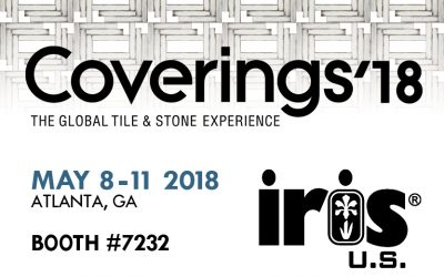 IRIS US TO ATTEND COVERINGS 2018