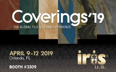 IRIS US TO ATTEND COVERINGS 2019
