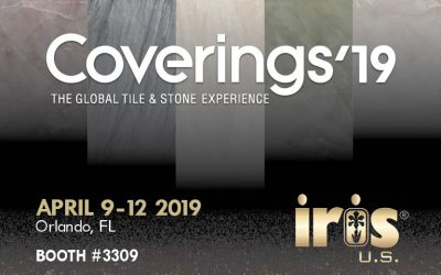 THANK YOU FOR ATTENDING THE COVERINGS'19 AND VISITING IRIS US BOOTH!