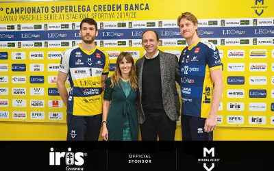For the third consecutive year, Iris Ceramica takes the field alongside Modena Volley
